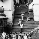 Staircase In Pashupatinath Temple @ Nepal