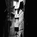 Figures In The Dark Alleyway @ Nepal