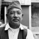 Man With A Traditional Cap @ Nepal
