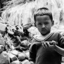 Boy Holding A Vessel @ Nepal