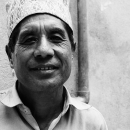Droopy Eyes And Traditional Cap @ Nepal