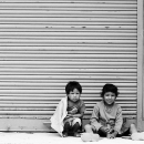 Kids In Front Of The Shutter @ Nepal