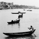 Boats On The River Buriganga