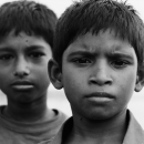 Two Boys At The Port @ Bangladesh