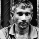Man With Gray Whiskers @ Bangladesh