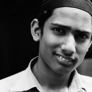 Young Man Shows His White Teeth @ Bangladesh
