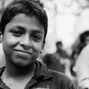 Portrait Of A Boy Wearing A Polo Shirt @ Bangladesh