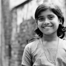 Smile Of A Girl Wearing A Necklace @ Bangladesh