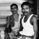 Workers With Mustache @ Bangladesh