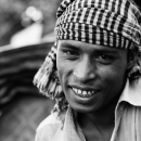 Man Wearing A Bandana @ Bangladesh