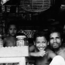 Father And His Sons In A Small Shop @ Bangladesh