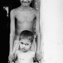 Brothers At The Enatrance