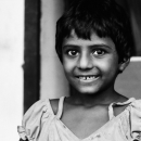 Bashfulness Of A Little Girl @ Bangladesh