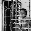 Boy On The Other Side Of The Lattice Window @ Bangladesh