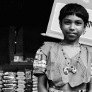 Girl Wearing A Necklace @ Bangladesh