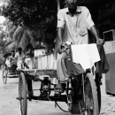 Man Riding The Tricycle @ Bangladesh