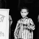Boy Wearing A Vertical-striped Shirt @ Bangladesh