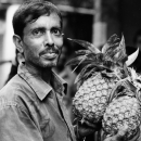 Pineapples In His Hand @ Bangladesh