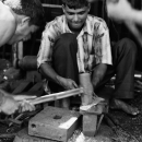 Men At Blacksmith's Workshop @ Bangladesh