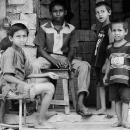 Children At A Storefornt