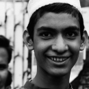 Young Man Wearing Taqiyah @ Bangladesh