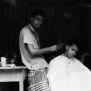 Two Men In The Barber @ Bangladesh