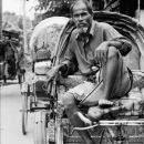 Rickshaw Wallah Waiting For A Customer