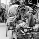 Rickshaw Wallah Waiting For A Customer