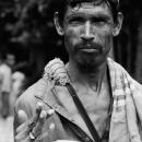 Man Holding A Dish @ Bangladesh