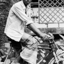 Young Man Riding The Bicycle @ Bangladesh