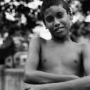 Boy Crossing His Arms