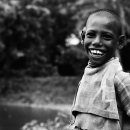 男の子の素敵な笑顔