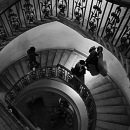 Spiral Staircase In The Courtauld Gallery