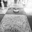 トラファルガー広場の水溜まり