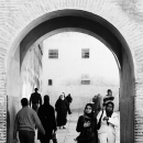 People Walking Through The Gate @ Morocco