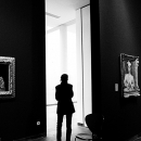 Silhouette In The Gallery