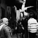 Chubby Woman Wearing The Scarf @ Morocco