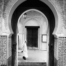 Arch Of The Chrabliyine Mosque In Fez El-Bali @ Morocco