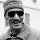 Man Wearing Sunglasses Laughed @ Morocco