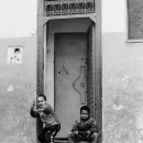 Two Boys Acting Menacingly @ Morocco