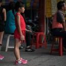 Girl Wearing Red