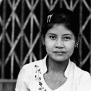 Woman With A Daring Face @ Myanmar