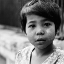 Face Of A Girl @ Myanmar
