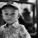 Boy Wearing A Cap @ Myanmar
