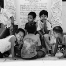 Children In Botataung Paya @ Myanmar