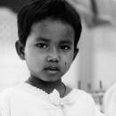 Girl In The Temple @ Myanmar