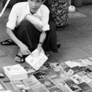 Bookshop On The Sidewalk @ Myanmar