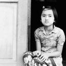 Wearied Eyes At The Door @ Myanmar