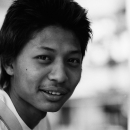 Face Of A Young Man @ Myanmar