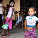 Boy Shows His Navel @ Myanmar